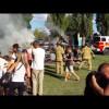 Tűzoltó bemutató 2016 Falunap